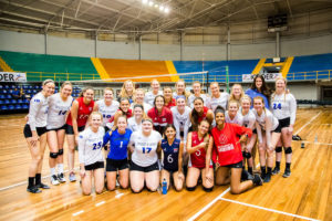 how to plan a volleyball tour